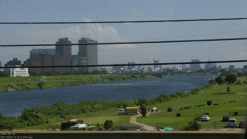 Fahrt nach Takayama