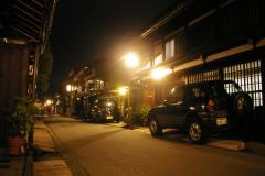 Takayama bei Nacht