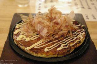 Okonomiyaki in Hida-Furukawa