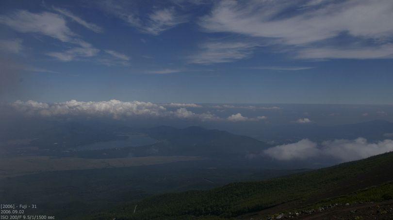 Fuji - Aussicht auf Kawaguchiko