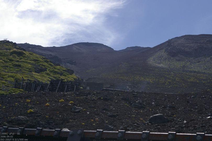 Fuji - Blick nach oben