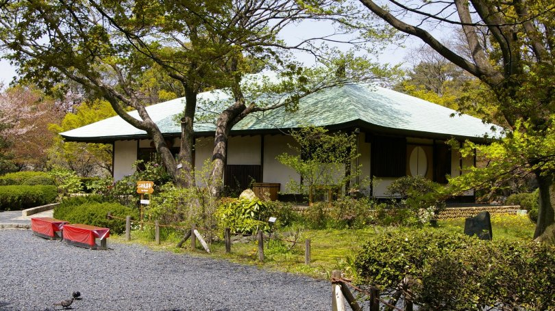 Teehaus bei Nagoya Castle