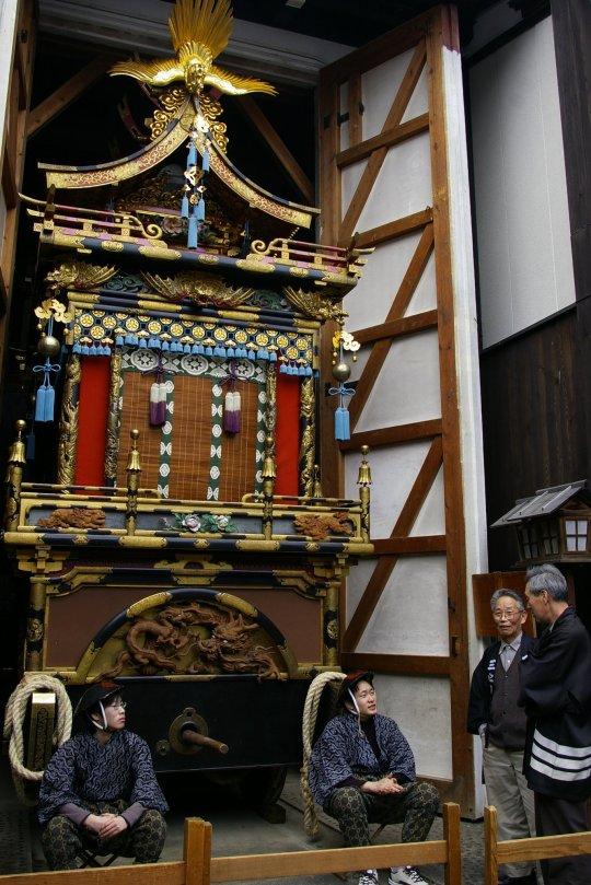 Takayama Matsuri - bewacht