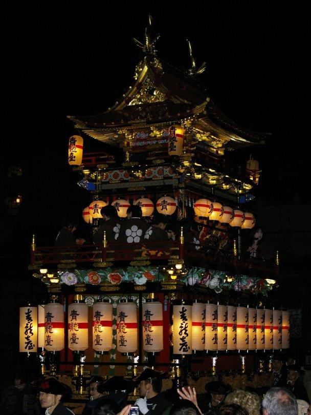 Takayama Matsuri - Laternen