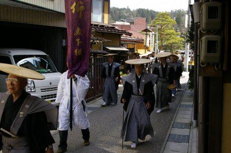 Takayama Matsuri - Prozession