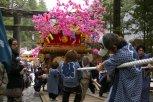 Nikko Matsuri - Die Rampe zum Schrein