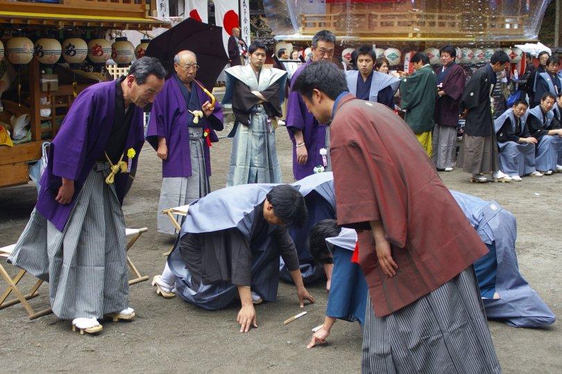 Nikko Matsuri - Delegation