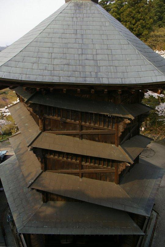 Aizu-Wakamatsu - Pagode