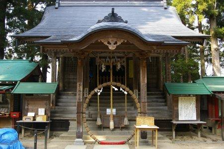 Hiraizumi - Schrein