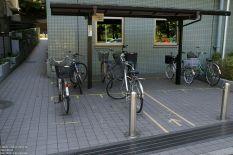 Fahrradstellfläche in Ueno, Tokyo