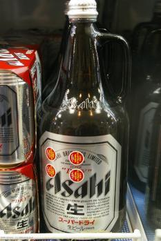 1-Liter-Flasche Asahi