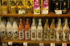 Sakeflaschen