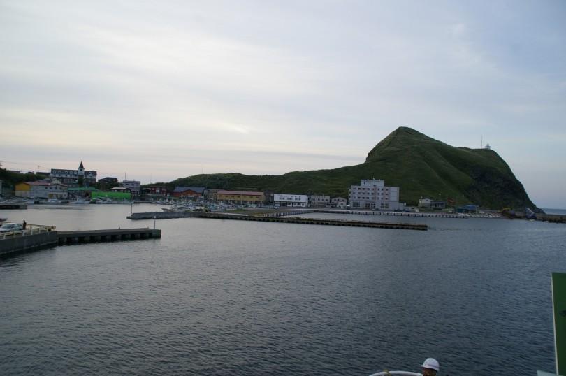 """Der Hafen mit """"meinem"""" Hügel"""