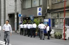 Mittagspause in Nihonbashi