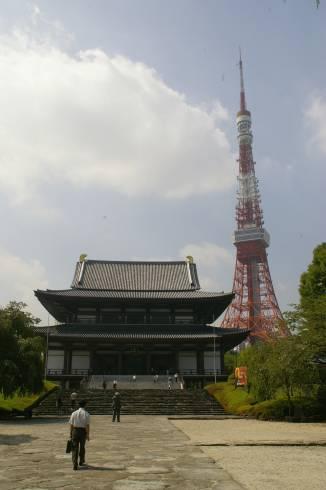 Zojoji und Tokyo Tower