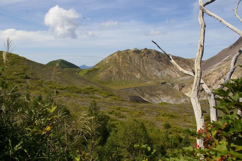Krater des 1974er Vulkans
