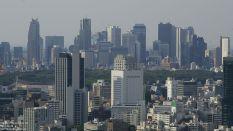 Skyline von Shinjuku, Blick von Ebisu aus