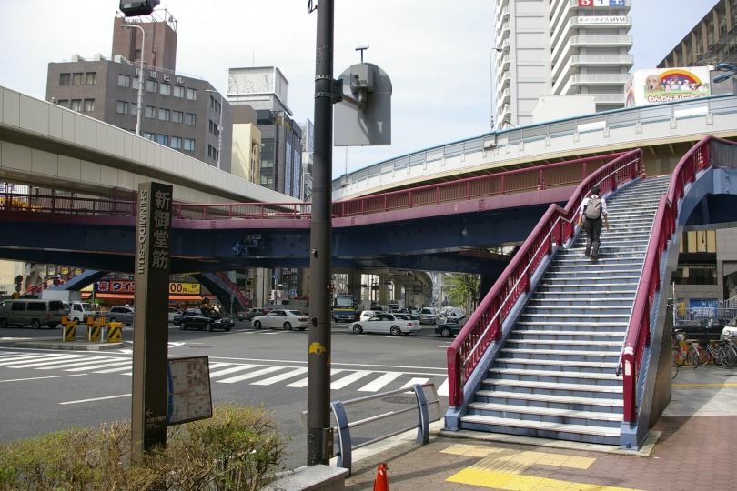 Pedestrian Deck - Oosaka