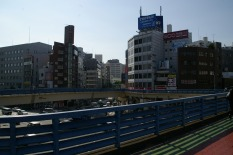 Pedestrian Deck - Iidabashi