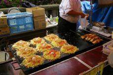 Okonomiyaki mit Ei