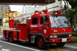 Feuerwehr Tokyo - Gelenkmast