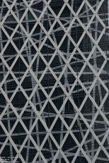 Mode Gakuen Cocoon Tower - Detail, Tange Associates