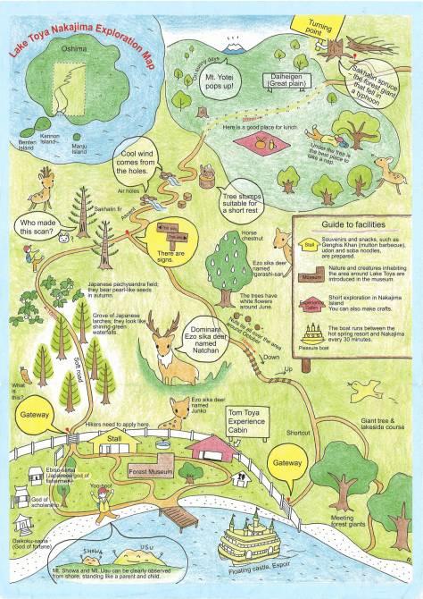 Toya Nakajima Map