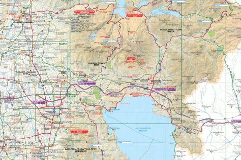 Karte Bandai Region