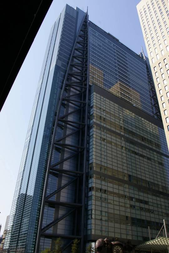 Shiodome Nippon Television HQ