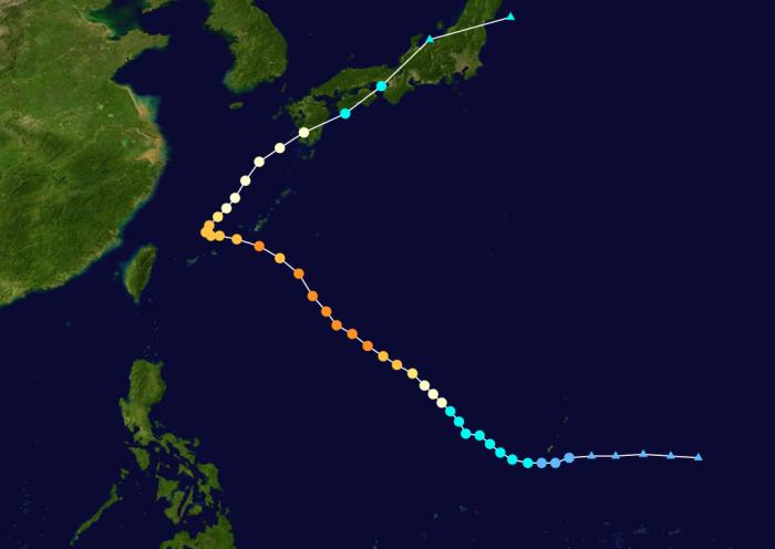 Tafun 21 .. Meari (Quinta) .. Kategorie 4 (Taifun)