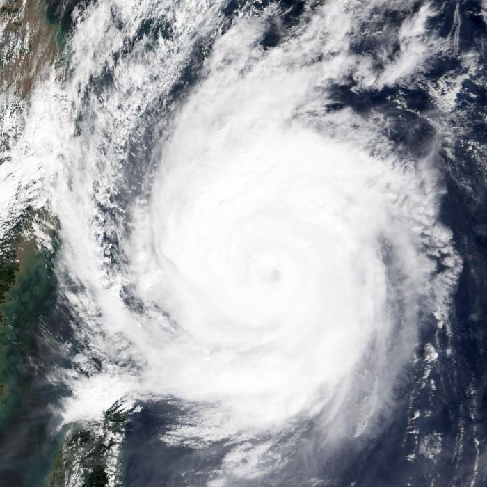 Taifun 21 .. Quelle: NASA