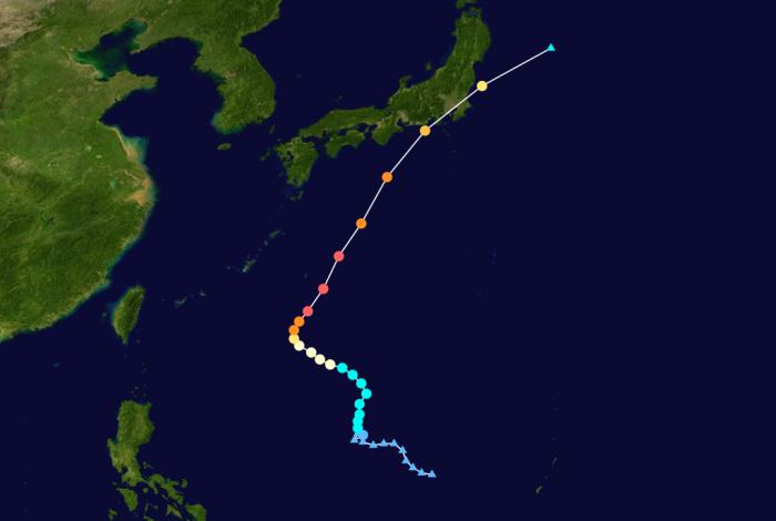 Taifun 22 .. Ma-on (Rolly) .. Kategorie 5 (Super Taifun)