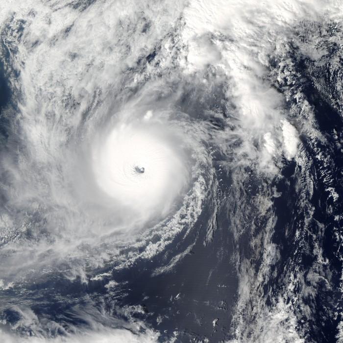 Taifun 22 .. Quelle: NASA