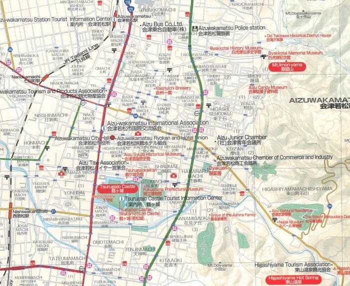 Karte Wakamatsu