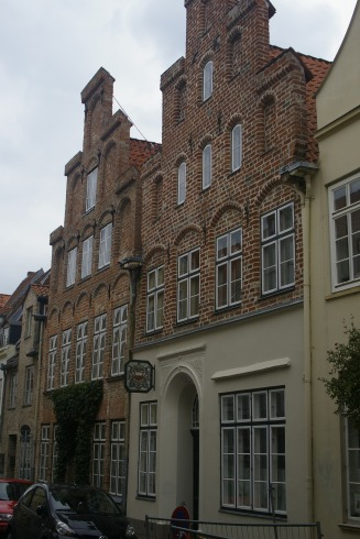 typical house in the city center