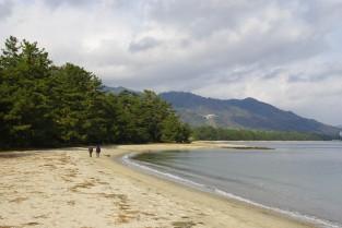 Amanohashidate Beach