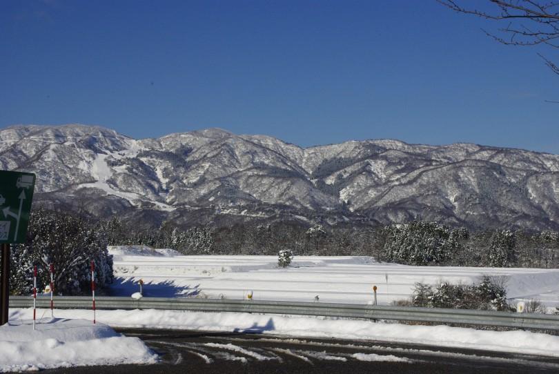 Mountains at Shirakawago
