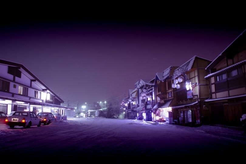 Kisofukushima covered in Snow