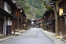 zurück in Tsumago
