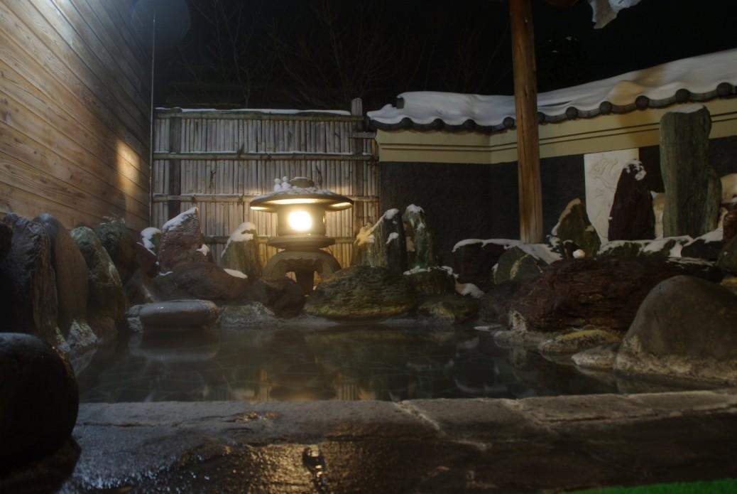 Kiyoshigekan, Rotenburo