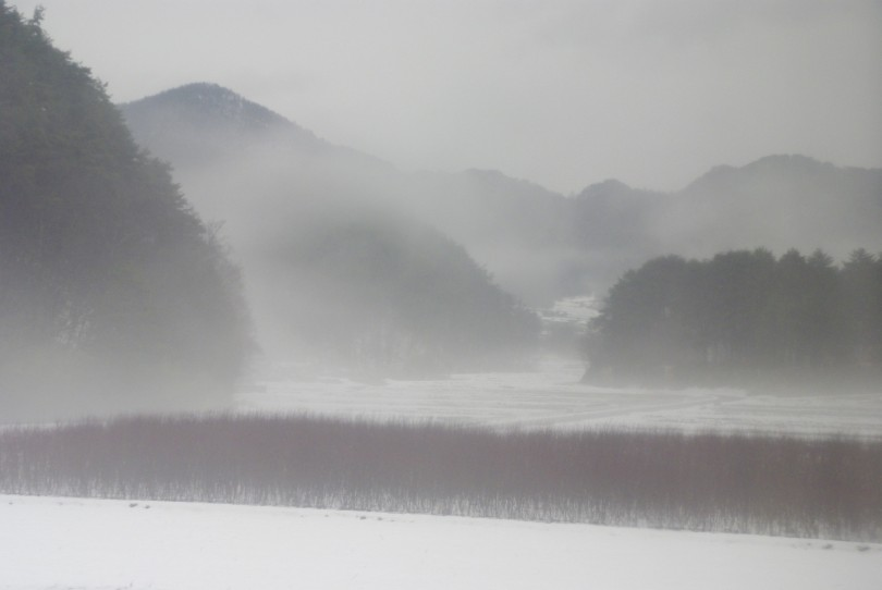 Kurz hinter Kisofukushima