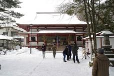 Shrine in Kusatsu Onsen