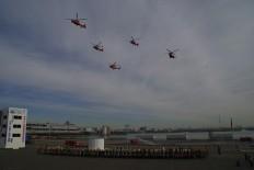 Dezome Shiki 2013, Helikopter
